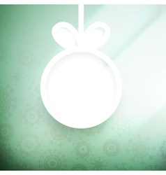 Christmas applique background EPS10 vector image
