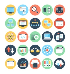 Data science icons 2 vector
