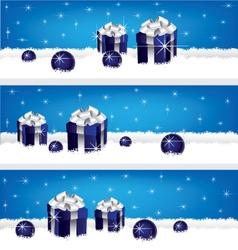 Gift-banner vector