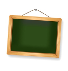 little blackboard vector image vector image