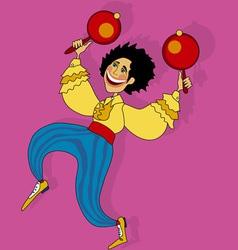 Salsa dancer vector