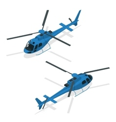 Helicopters fly air transportation and sky rotor vector