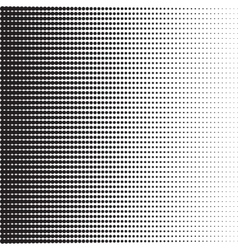 Dots halftone pattern vector