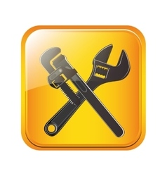 Under construction tool vector image