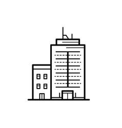 City buildings vector