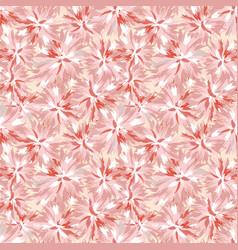 Floral seamless pattern flower background garden vector