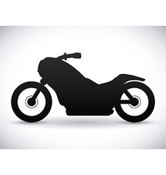 Motorcycle design vector