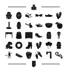 Agriculture clothing sports and other web icon vector