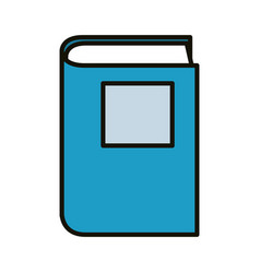 book and education vector image
