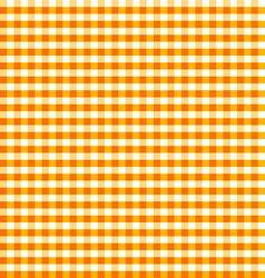 checkered cloth picnic Seamless Tablecloth fabric vector image