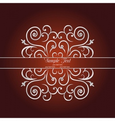 luxury background vector image vector image