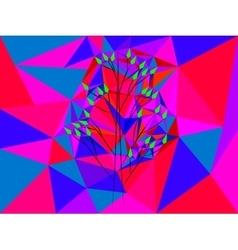 pattern - tree vector image vector image
