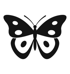 Butterfly pierid icon simple style vector image