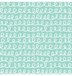 Abstract knots seamless pattern doodle hand drawn vector