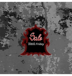 Black Friday Sticker vector image