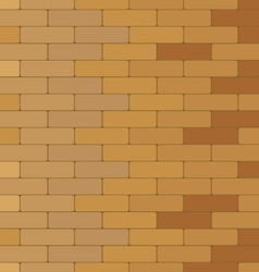 Brick wall Colorful brick texture background vector image