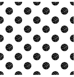 basketball ball pattern vector image