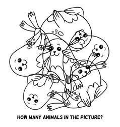 fur seal vector image vector image