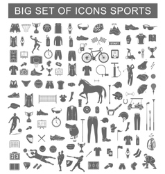 Big set of sport icons vector
