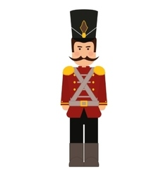 Soldier icon toy design graphic vector