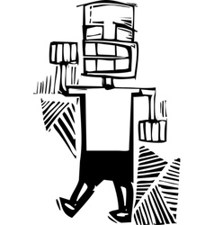 Fist Bump vector image