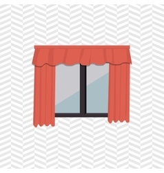 apartment window design vector image