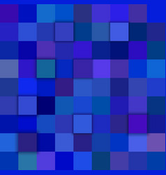 Blue abstract 3d square background vector
