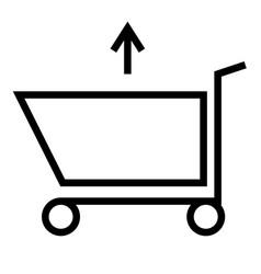 caddie icon vector image