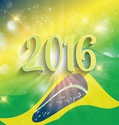 Rio de Janeiro background 2806 vector image vector image