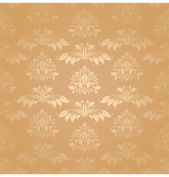 seamless patterns gold vector image vector image