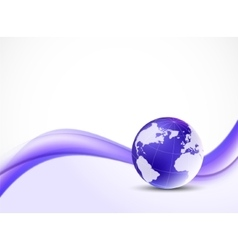 Violet purpule background vector image