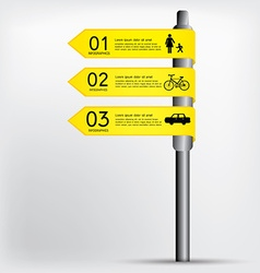 Modern sign infographics eps 10 vector