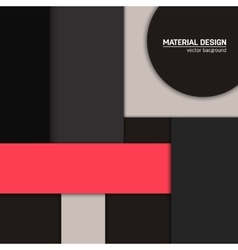 Material design background abstract vector