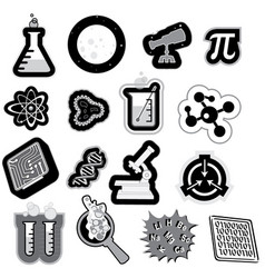 Science icon vector