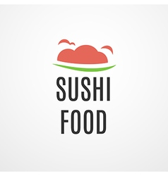 Food logo concept vector