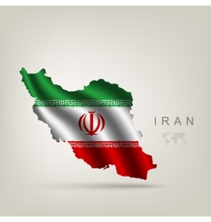 Flag of Iran as a country vector image