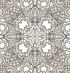 flower decorative pattern vector image