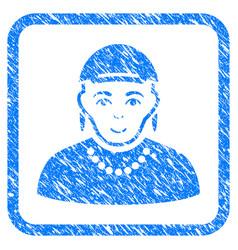Gay framed stamp vector