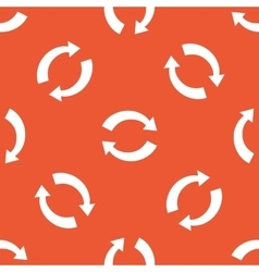 Orange exchange pattern vector