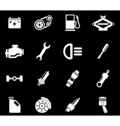 Auto Service Icons vector image