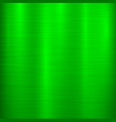 Green metal technology background vector