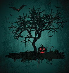 grunge halloween background 2708 vector image vector image