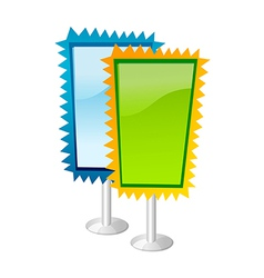 Icon pickets vector