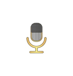 Microphone computer symbol vector