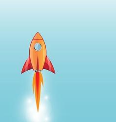rocket1 vector image vector image