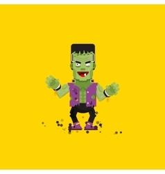 Frankensteins monster character for vector image