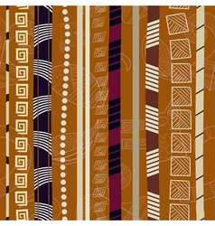 Tribal Colorful seamless texture vector image