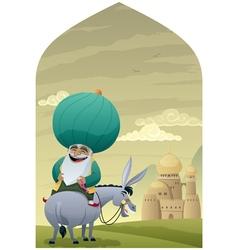 Nasreddin Hodja 2 vector image