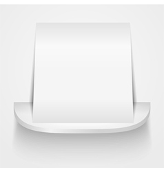 Paper on round shelf vector