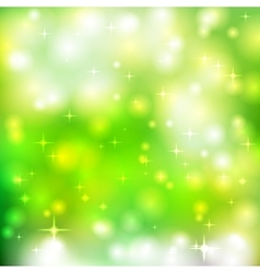 Bright glowing particles vector